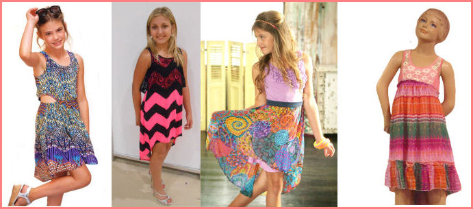 Hi Lo Tween Dresses