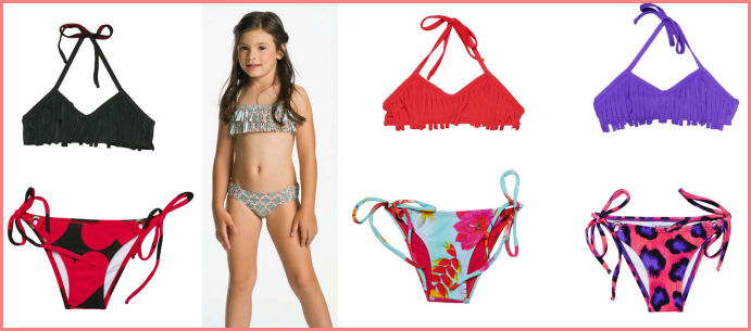 Fringe Swimwear for Girls